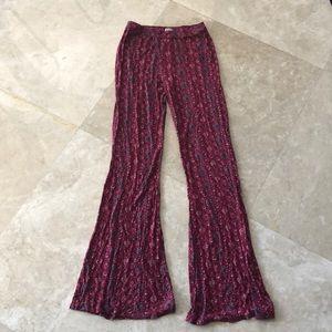 Pants - Hollister soft wide leg pants